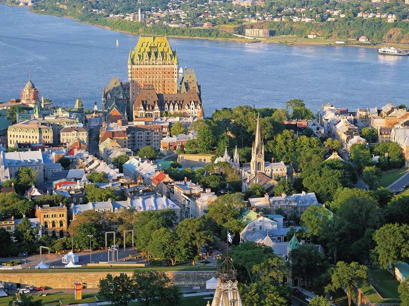 Montreal & Quebec Cities by Rail | Quebec City