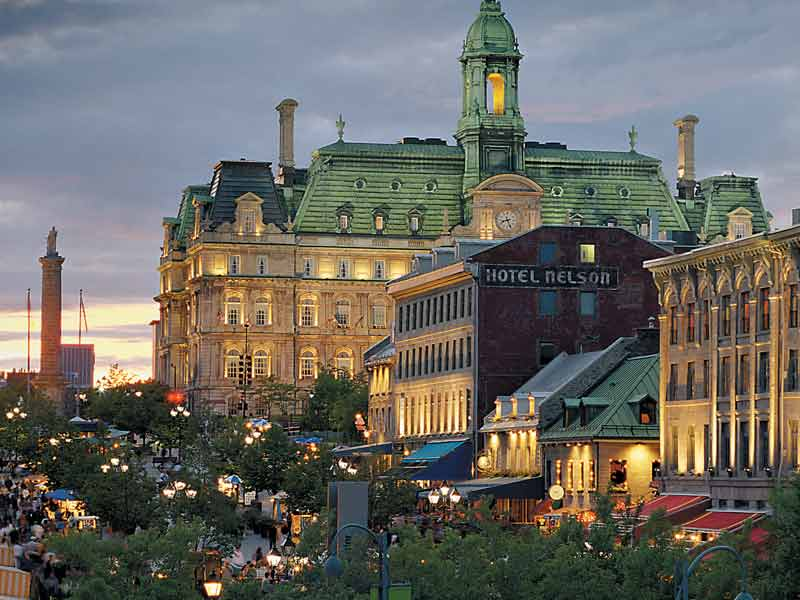 Montreal & Quebec Cities by Rail | Montreal