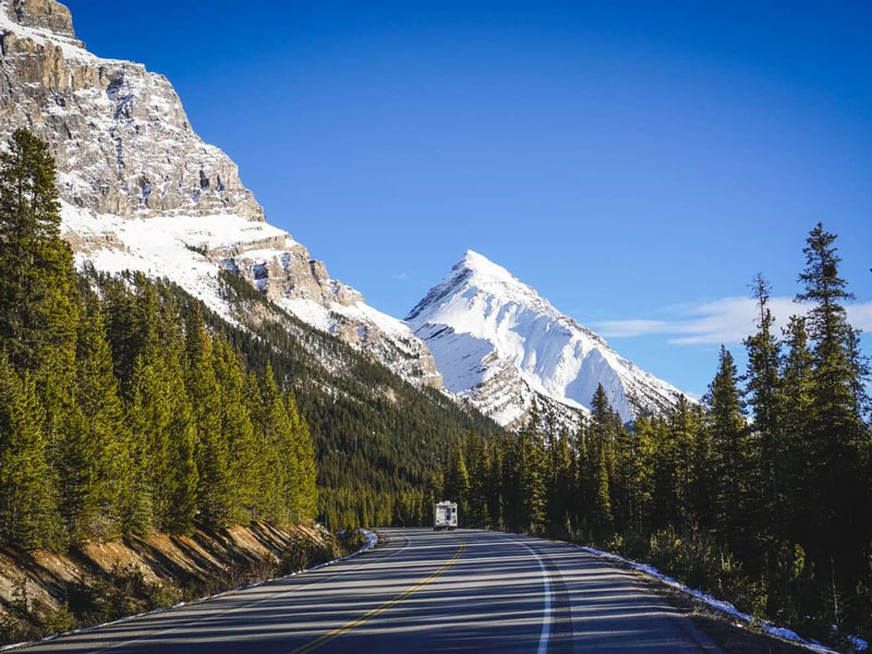 Canadian Rockies by Train Grand Circle Tour   Icefield Parkway