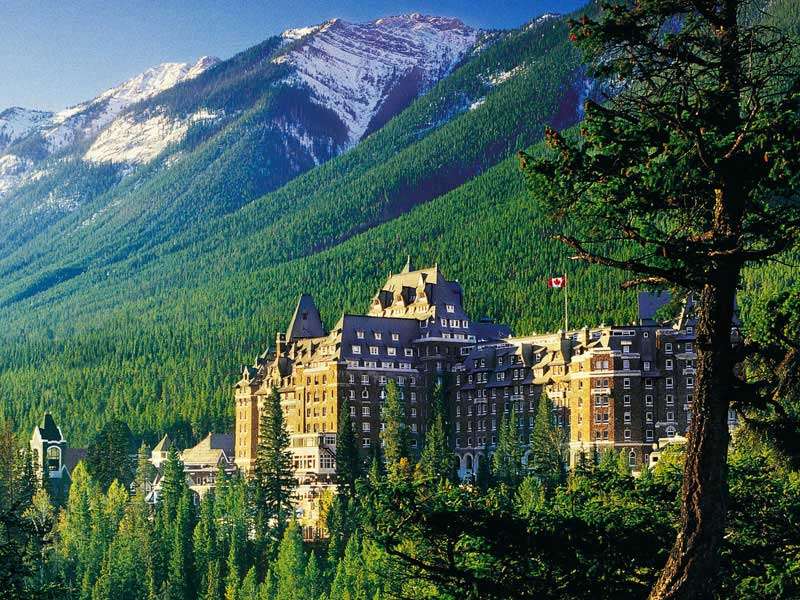 Canadian Rockies by Train Grand Circle Tour   Fairmont Banff Springs Hotel
