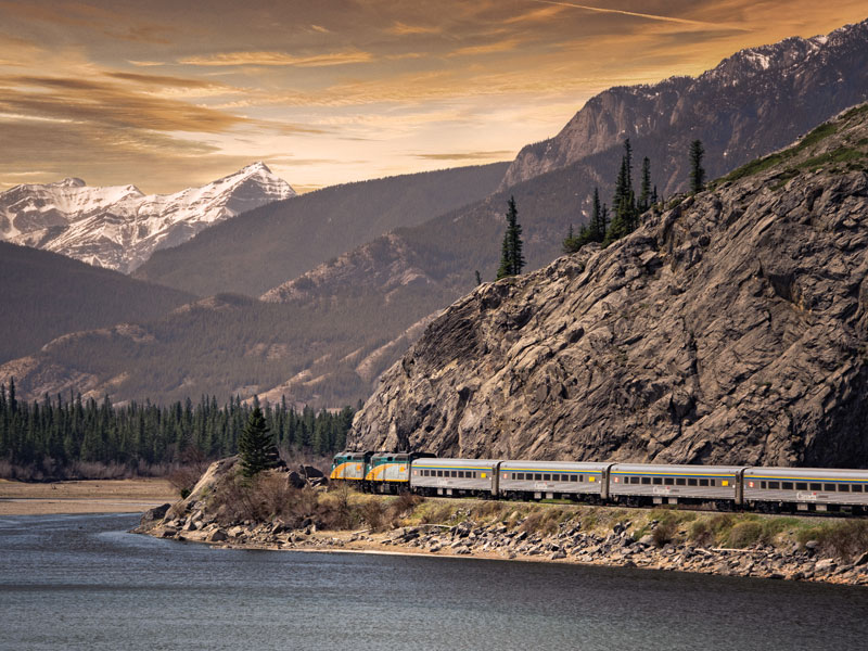Canadian Trails Train Trip Across Canada | Vancouver to Toronto