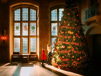 Christmas in the Canadian Rockies Train Vacations | Via Rail