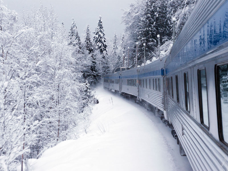 Christmas in the Canadian Rockies Winter Train Vacations | VIA Rail