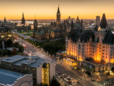 Eastern Canada Train Tour of the Capital Cities | Ottawa | Montreal | Quebec