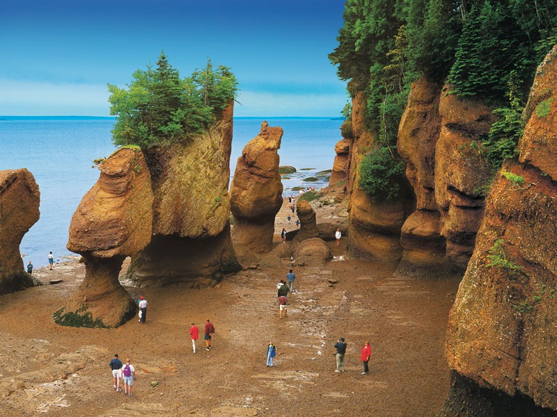 Grand Canadian Train Journey | Bay of Fundy