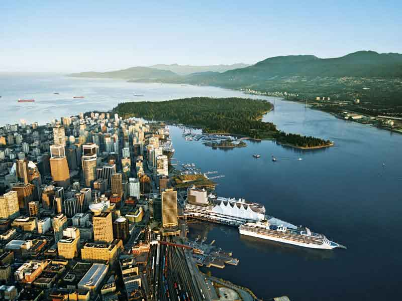 Grand Canadian Train Journey | View of Vancouver
