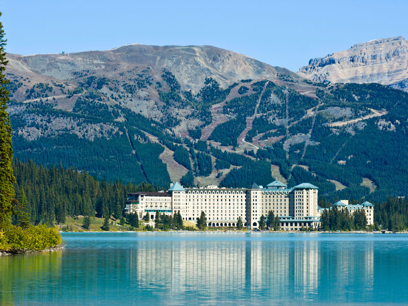Grizzly Bears & the Canadian Rockies Train Vacation   Fairmont Chateau Lake Louise