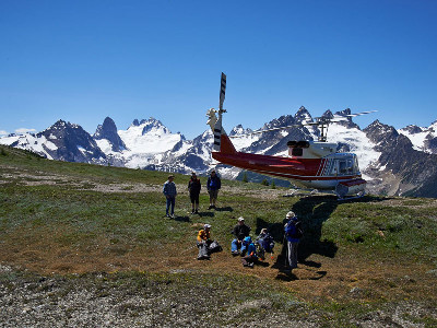 Journey Through the Clouds Rail & Heli Adventure | Rocky Mountaineer