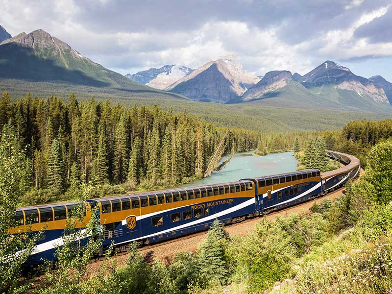 Journey through the Canadian Rockies Rail & Road Trip | Rocky Mountaineer