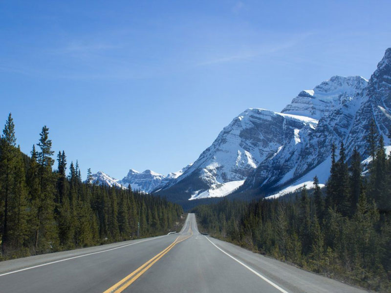Journey through the Canadian Rockies Rail & Road Trip | Driving through the Canadian Rockies