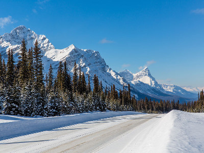 Luxury Winter Train Trip to the Canadian Rockies