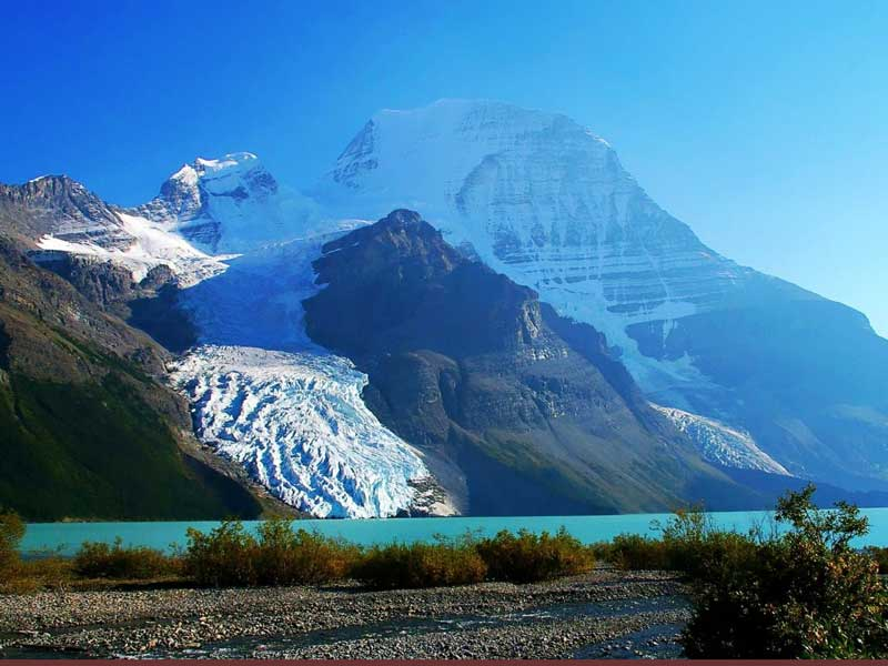 Canadian Rockies by Train   Mt Robson