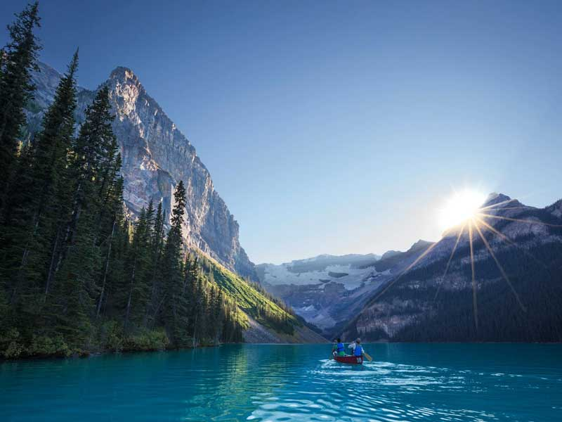 Canadian Rockies by Train   Lake Louise