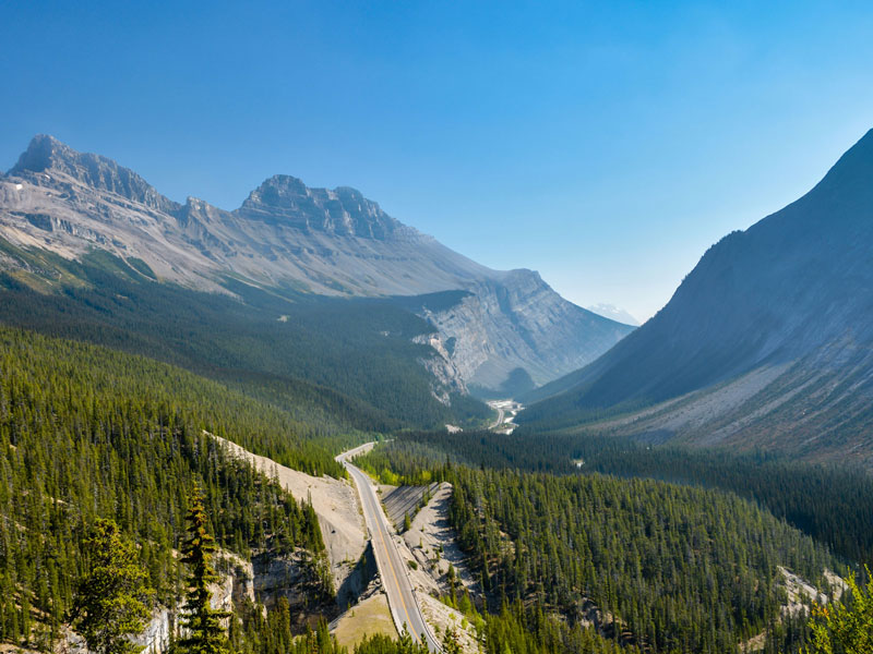 Luxury Train to the Canadian Rockies | Icefield Parkway