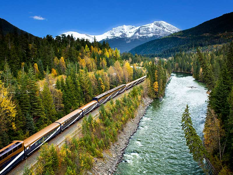 Signature Canadian Rockies by Train | Rocky Mountaineer Train