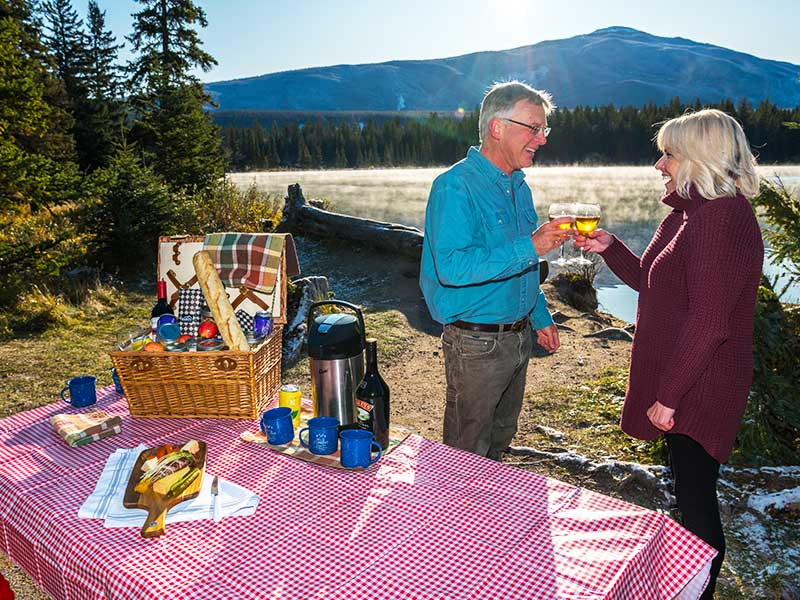Signature Canadian Rockies by Train | Picnic Lunch Canadian Rockies