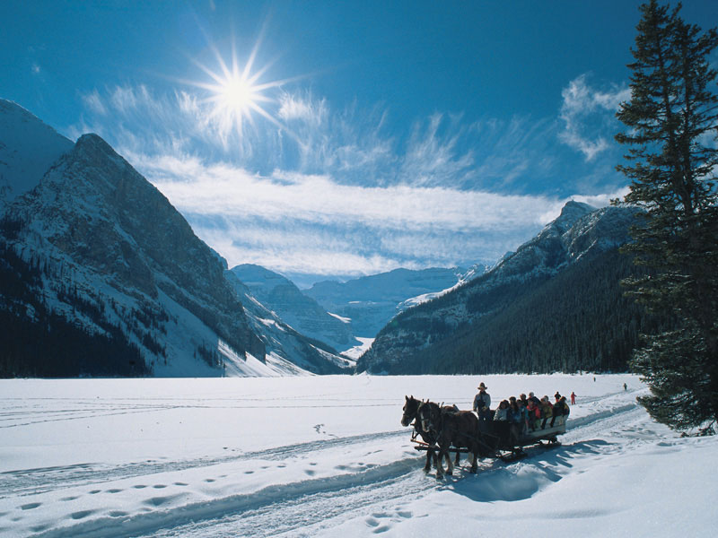 Winter Snow Train to the Canadian Rockies   Lake Louise