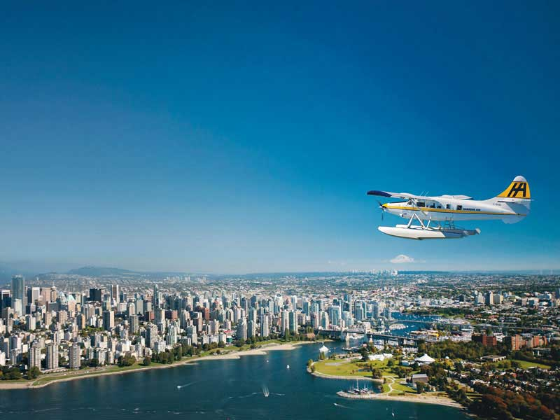 Vancouver & the Canadian Rockies Train Vacation | Harbour Air Vancouver