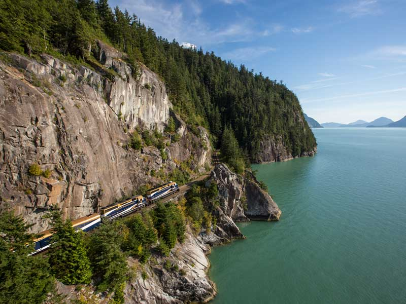 Whistler and the Canadian Rockies by Train Circle Tour